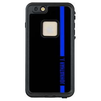 Polizei verdünnt Blue Line kundengebundenen LifeProof FRÄ' iPhone 6/6s Plus Hülle