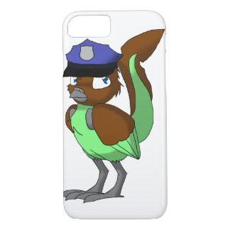 Polizeibeamte-Schokolade/tadelloser iPhone 8/7 Hülle