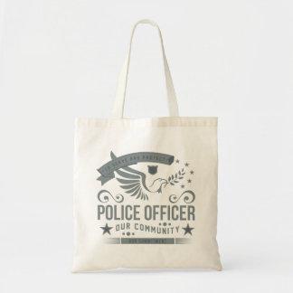 Polizeibeamte-Verpflichtung Budget Stoffbeutel