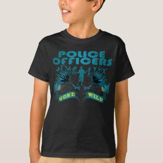Polizeibeamten wild gegangen T-Shirt