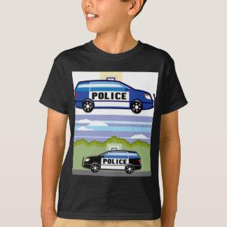 Polizeifahrzeug T-Shirt