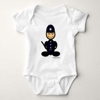 Polizist (einfach) baby strampler