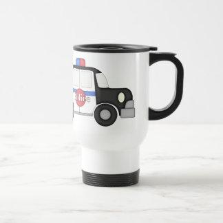 Polizist-Reise-Tasse der Welt bestste Edelstahl Thermotasse