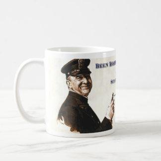 Polizist-Schale Kaffeetasse