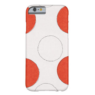 Polka dots I phone Barely There iPhone 6 Hülle