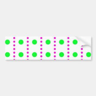 polka dots spots tupfen getupft punkte autoaufkleber