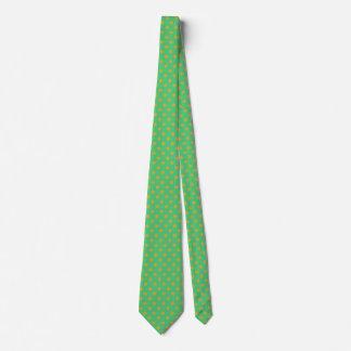 Polka-Punkt der Männer Goldund Krawatte
