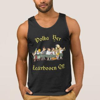 Polka-YERLederhosen weg! 2 Tank Top