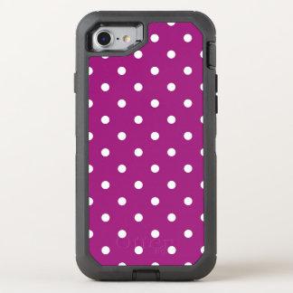 polkadots20160601 OtterBox defender iPhone 8/7 hülle