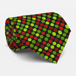 Polkapunktmuster-WeihnachtenKrawatte Krawatte