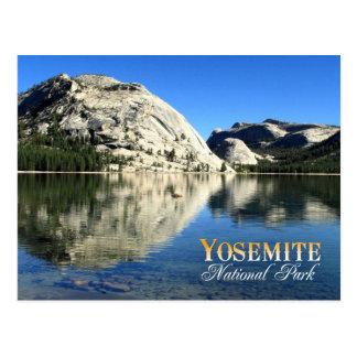 Polly Hauben-Reflexion, Yosemite Nationalpark Postkarte