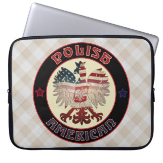 Polnische Amerikaner-Eagle-Laptop-Hülsen-Tasche Laptopschutzhülle