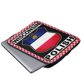 Polnische amerikanische Laptop-Abdeckung Laptopschutzhülle