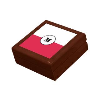 Polnische Flagge Geschenkboxen