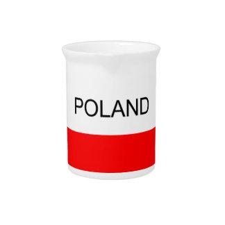 Polnische Karte Getränke Pitcher