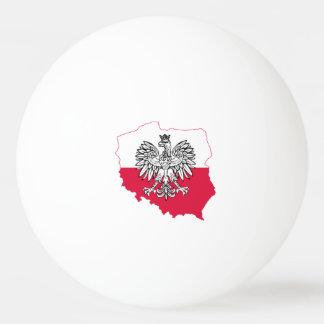 Polnische Karten-Flaggen-Klingeln Pong Bälle Ping-Pong Ball