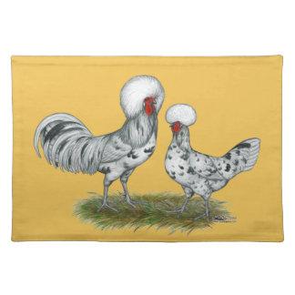 Polnische Spritzen-Hühner Tischset