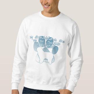 Polnische Tiefland-Schäferhund-Enkelkinder Sweatshirt