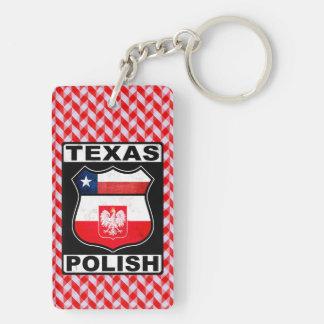 Polnischer amerikanischer Schlüsselring Texas