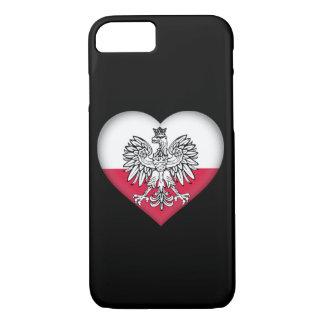 Polnischer Liebe-Telefon-Kasten iPhone 8/7 Hülle