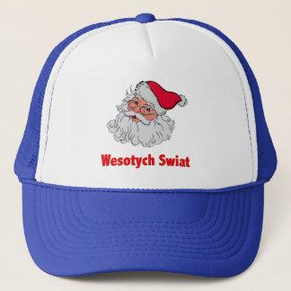 Polnischer Weihnachtsmann #2 Truckerkappe
