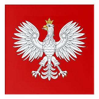 Polnisches Eagle Acryldruck