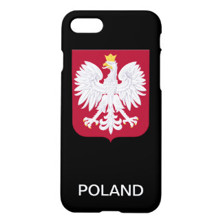 Polnisches Eagle-Rot-Schild iPhone 8/7 Hülle