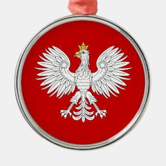 Polnisches Eagle Silbernes Ornament