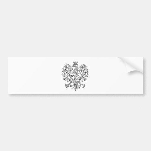 Polnisches Symbol Autosticker