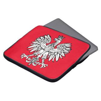 Polnisches Wappen Laptopschutzhülle