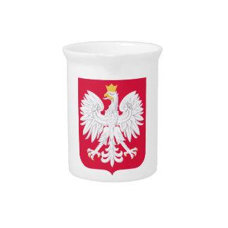 Polnisches Wappen Polens Getränke Pitcher