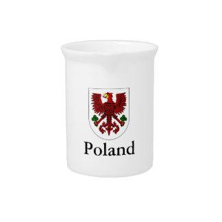 Polnisches Wappen Polens   Krug