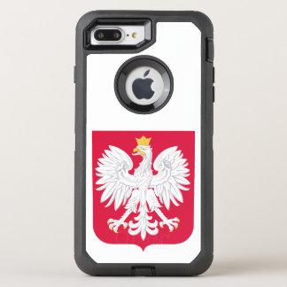 Polnisches Wappen Polens OtterBox Defender iPhone 8 Plus/7 Plus Hülle