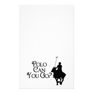 Polo kann Sie gehen Briefpapier