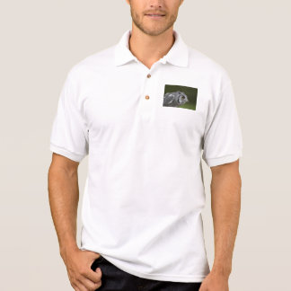 Polo-Shirt - Baby-Grau-Eule Polo Shirt