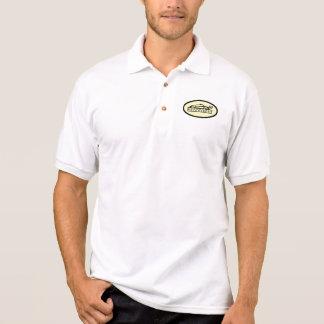 Pologelb, -WEISS und -SCHWARZES Polo Shirt
