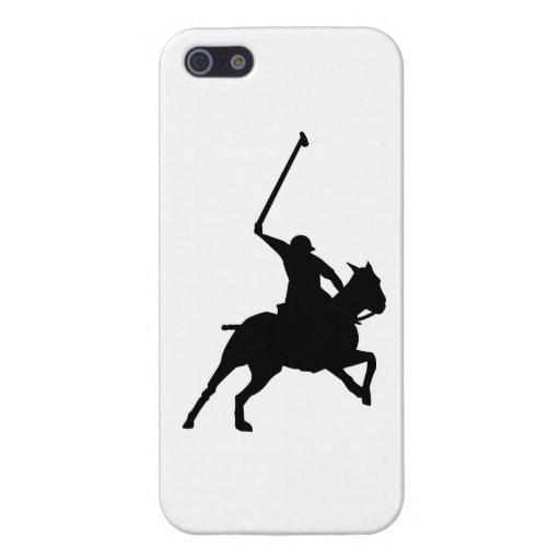 Polospieler iPhone 5 Etui
