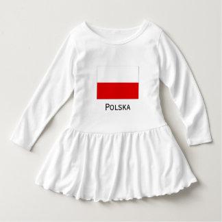 Polska polnische Flagge Kleid