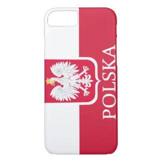 Polska weiße Eagle Flagge iPhone 8/7 Hülle