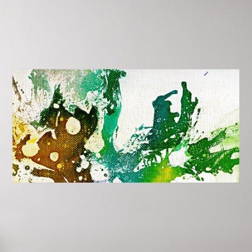 Polychromoptic #5 durch Michael Moffa Plakat