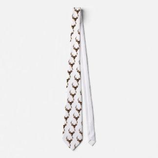 Polygon-Rotwild Krawatte