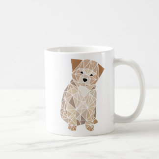 Polygon-Welpe Kaffeetasse