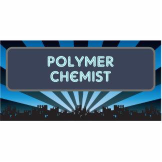 Polymer-Chemiker-Festzelt Photostatue