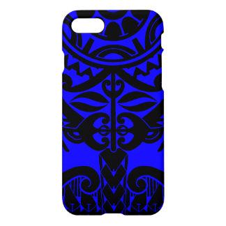 Polynesische Maskentätowierung mit iPhone 8/7 Hülle