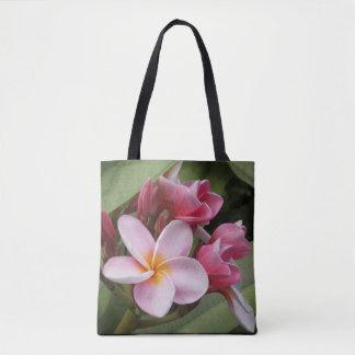 Polynesische Plumeria-Taschen-Tasche Tasche