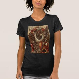 Polynesische Waffen und Kostüm T-Shirt