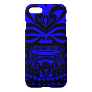 Polynesischer tiki Maskenentwurf iPhone 8/7 Hülle