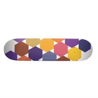 Polypattern Skate Board