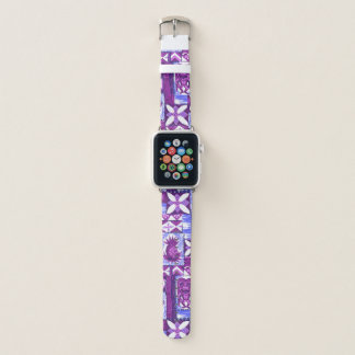 Pomaika'i Tiki hawaiischer Vintager Tapa - Apple Watch Armband