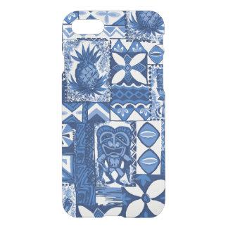 Pomaika'i Tiki hawaiischer Vintager Tapa iPhone 8/7 Hülle